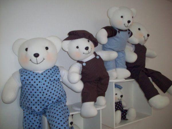 decoracao festa urso azul e marrom : decoracao festa urso azul e marrom:Urso Marrom e Azul – FESTAS PERSONALIZADA TIA NU